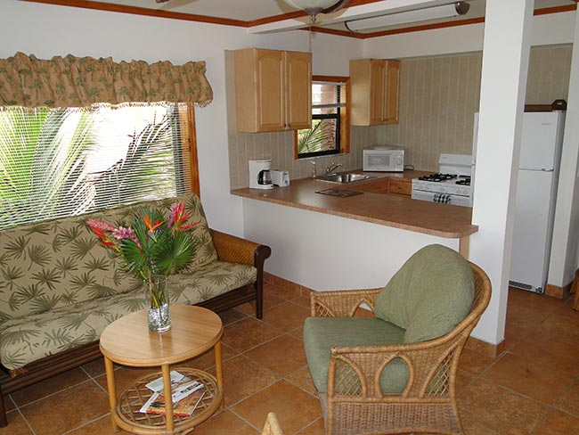 One Bedroom apartment with ocean view. SeaDowns Oceanfront Inn